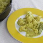 Curry-Kokos Karfiol mit Kartoffeln