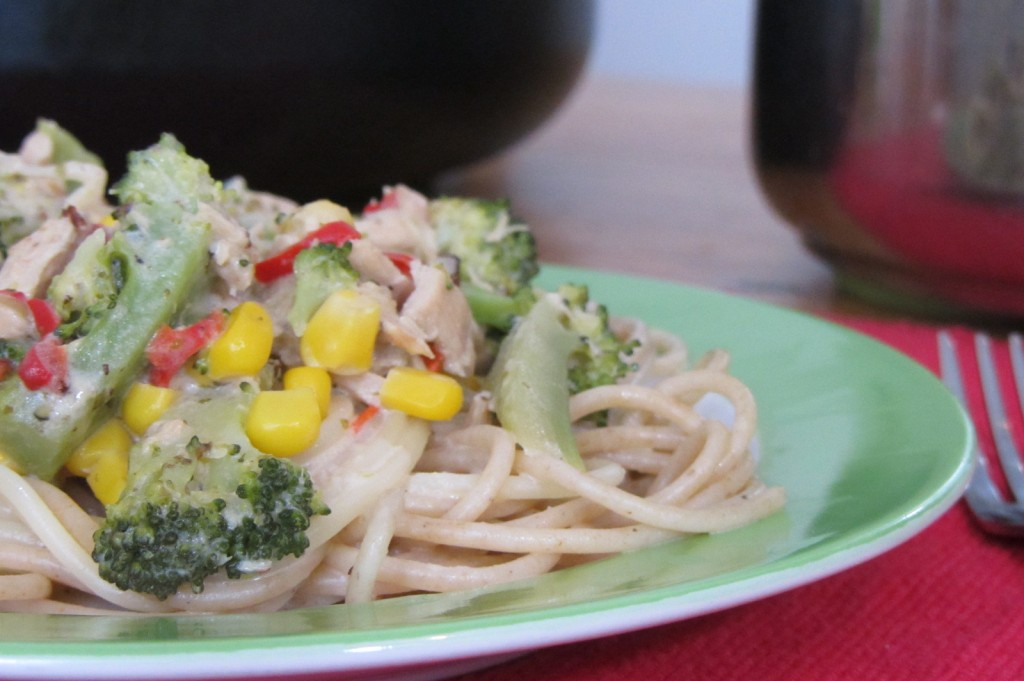 Spaghetti mit Brokkoli-Thunfisch-Sauce