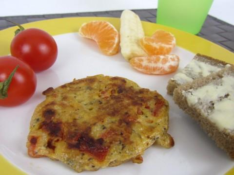 Hirseomelett, Baby-Frühstücksrezept von Babyspeck & Brokkoli auf babyspeck.at