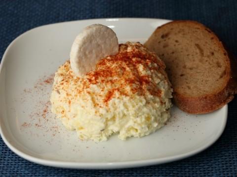 Vegetarisches Baby-Aufstrichrezept für die Brotzeit und Abendessen Erdäpfelkas von Babyspeck & Brokkoli auf babyspeck.at