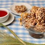 Baby led weaning Rezept für Baby-Snack Cranberry-Haferkekse von Babyspeck & Brokkoli auf babyspeck.at