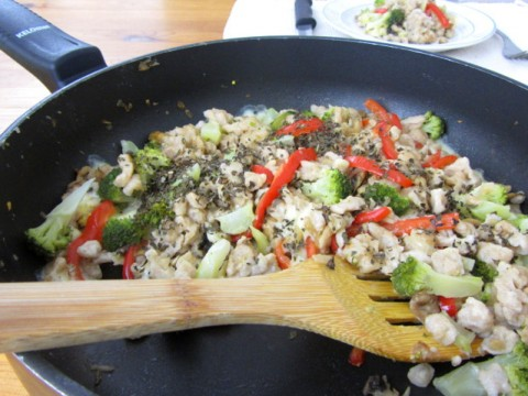 Babyrezept Gemüsespätzle in der Pfanne von Babyspeck & Brokkoli auf babyspeck.at
