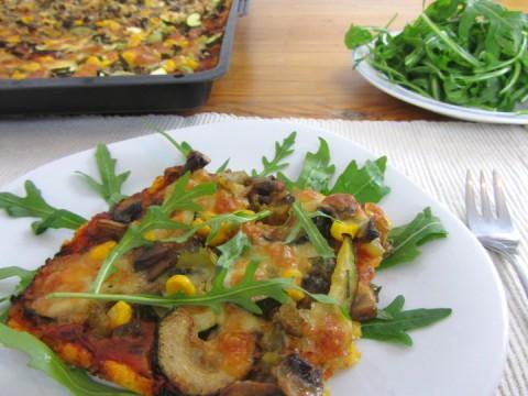 Babyrezept Polentapizza von Babyspeck & Brokkoli auf babyspeck.at