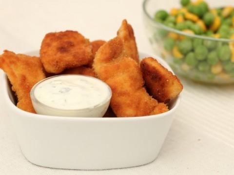Baby led weaning Rezept für BLW-Anfänger Chicken Nuggets von Babyspeck & Brokkoli auf babyspeck.at