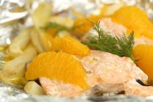 Baby-Fischrezept Folienfisch mit Fenchel und Orangen von Babyspeck & Brokkoli auf babyspeck.at