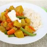 Babyrezept einfaches Gemüsecurry von Babyspeck & Brokkoli auf babyspeck.at
