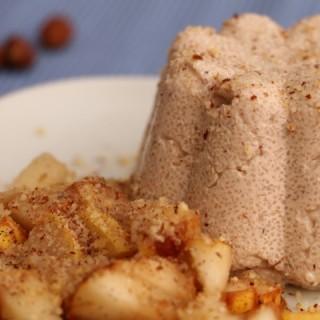 Babyrezept für Haselnuss-Grießpudding-mit Vanillebirnen von Babyspeck & Brokkoli auf babyspeck.at