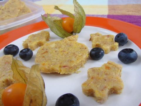 Apfel und Polenta, Baby led weaning, BLW-Anfänger, BLW Rezept, Babyrezept, Kleinkindrezept, vegan, vegetarisch, süßes Polentarezept ohne Zucker