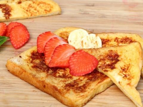 baby led weaning frühstück, blw french toast