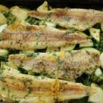 Baby led weaning Rezept für Gemüseauflauf mit Fisch. Babygerechtes Rezept mit Kartoffeln, Zucchini und Brokkoli.