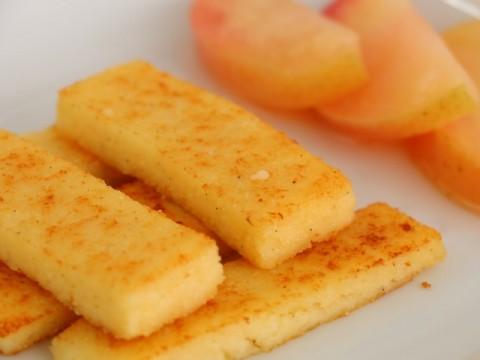 Baby-led-weaning Rezept für BLW-Anfänger Grießschnitten von Babyspeck & Brokkoli auf babyspeck.at.