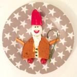 4. Dezember vom Adventkalender 2015 von babyspeck.at. Adventliches Abendbrot mit Nikolaus-Motiv