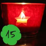Bastelanleitung buntes Teelicht am 15. Dezember im Adventkalender von Babyspeck & Brokkoli auf babyspeck.at. Gastbeitrag von Anna Pollack. Beitragsbild