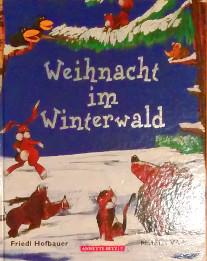 Adventkalender 2015 auf Babyspeck.at, Fenster 3: Buchtipp Klanggeschichte Weihnacht im Winterwald