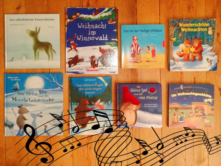 Adventkalender von Babyspeck & Brokkoli, 3. Dezember 2015, 8 Klanggeschichten zu Weihnachten, Buchtipps