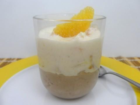 Babyrezept für winterliches Dessert: Maroni-Orangenjoghurt am 16. Dezember im Adventkalender 2015 auf babyspeck.at