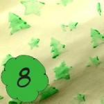 Bastelanleitung Geschenkspapier bedrucken am 8. Dezember im Adventkalender von Babyspeck & Brokkoli. Gastbeitrag von Stadtmama.at, Beitragsbild