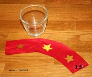 Bastelanleitung buntes Teelicht am 15. Dezember im Adventkalender von Babyspeck & Brokkoli auf babyspeck.at. Gastbeitrag von Anna Pollack. Bild 13 von 17