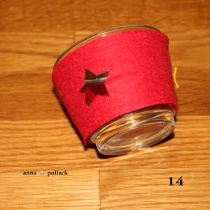 Bastelanleitung buntes Teelicht am 15. Dezember im Adventkalender von Babyspeck & Brokkoli auf babyspeck.at. Gastbeitrag von Anna Pollack. Bild 14 von 17