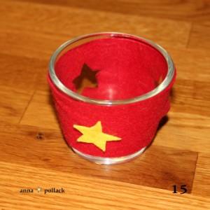 Bastelanleitung buntes Teelicht am 15. Dezember im Adventkalender von Babyspeck & Brokkoli auf babyspeck.at. Gastbeitrag von Anna Pollack. Bild 15 von 17