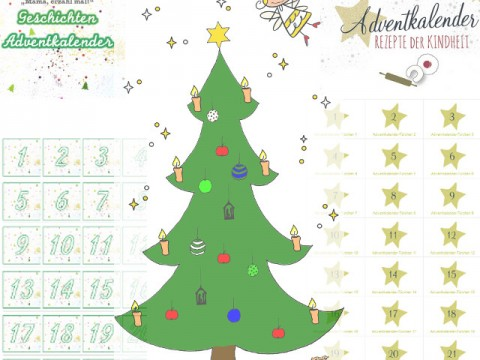 Adventkalender 2015 auf babyspeck.at, stadtmama.at und kids-cooks-composts.com