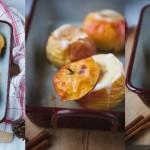 Zuckerfreies Babyrezept Bratäpfel mit Mandelmus am 1. Dezember im Adventkalender von Babyspeck & Brokkoli auf babyspeck.at. Gastbeitrag von kids, cooks & composts.