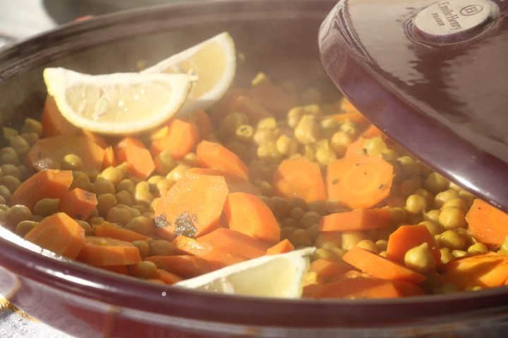 Orientalischer Eintopf mit Kichererbsen und Karotten, BLW-Rezept