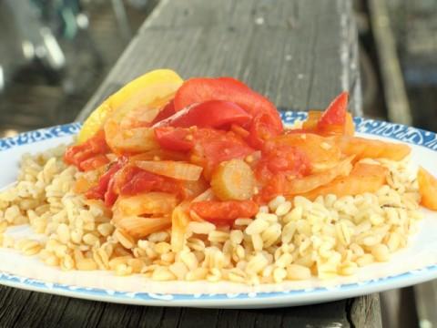 Geschmorter Fenchel mit Tomaten BLW-Anfänger Babyrezept auf babyspeck.at