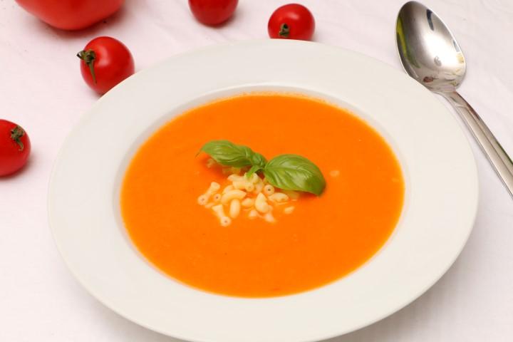 frische tomatensuppe (babyspeck.at)