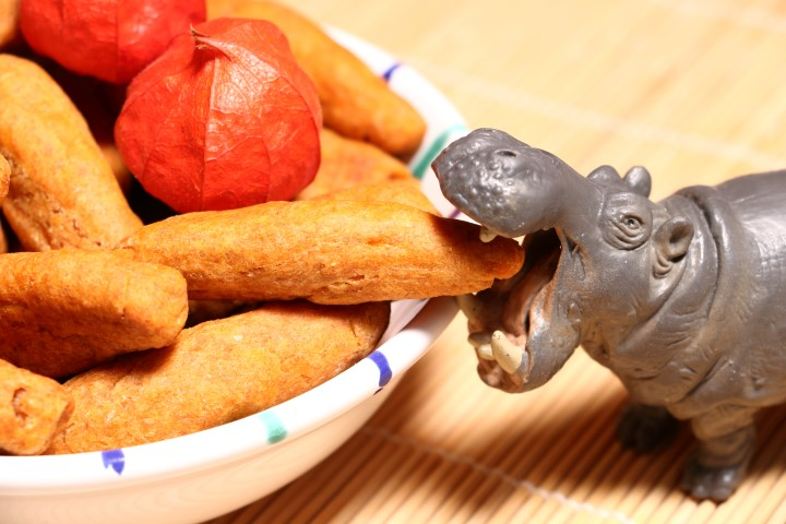 Süßkartoffel-Dinkelstangen auf babyspeck.at, Fingerfood für Babys ab 6 Monaten, BLW