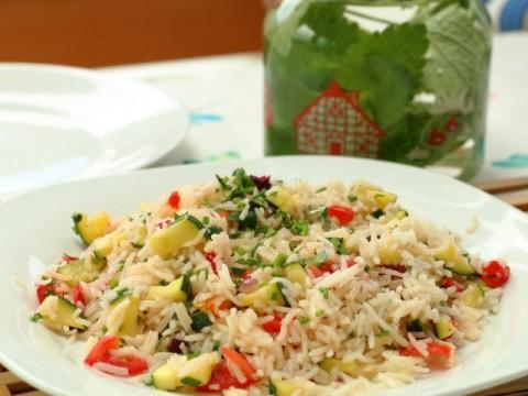 Einfacher Gemüsereis (babyspeck.at)